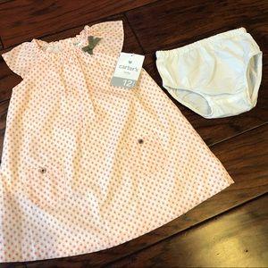 Carter's NWT - Toddler Dress, sz 12m
